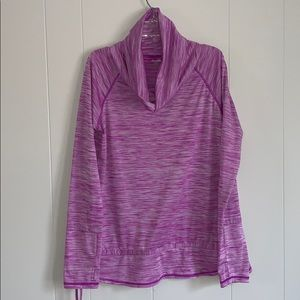 Pink Reebok Cowl Neck Pullover